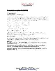 Presseinformation 10.8.2006 - Uni-Online