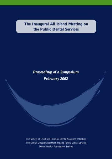 Inaugural All Island Meeting on the Public - Dental Health Foundation