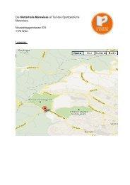 Die Kletterhalle Marswiese ist Teil des Sportzentrums Marswiese ...