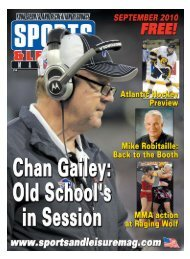 September-2010 Buffalo Edition - PDF - Sports and Leisure Magazine