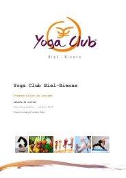 Yoga Club Biel-Bienne - Improvin