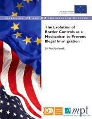 The Evolution of Border Controls as a Mechanism - Migration Policy ...