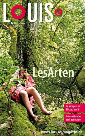 15:00 Uhr - LOUISe Magazin Bad Homburg
