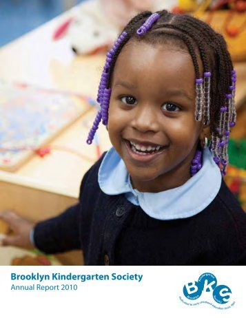 d O n O R S - Brooklyn Kindergarten Society