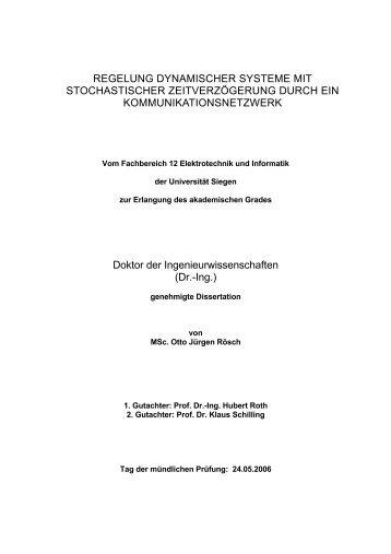 Dokument 1.pdf (8.384 KB) - Universität Siegen