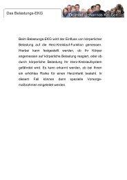 Das Belastungs-EKG - Dr. J. Kaußen