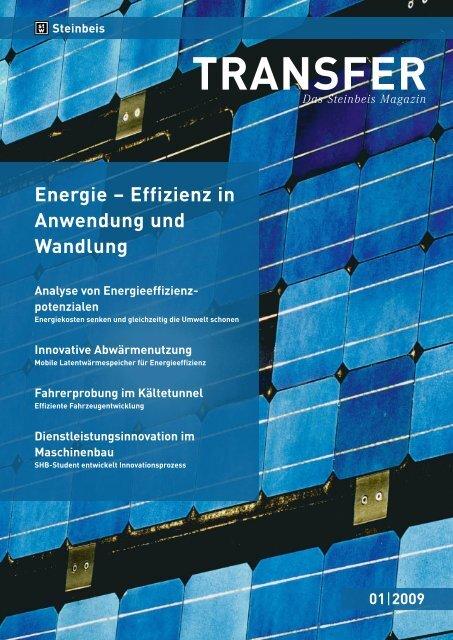 Effizienz in Anwendung und Wandlung Analyse von ... - STI EMII