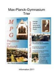 Bläserklassen in 5 und 6 - MPG Trier