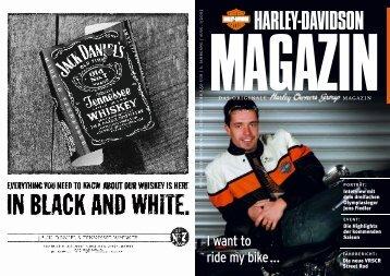 I want to ride my bike … - Harley-News