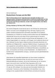 Deutschland, Europa und die Welt - Universität Bielefeld