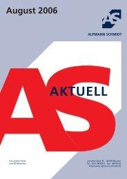 AS-Aktuell - Alpmann Schmidt