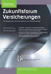 Zukunftsforum Versicherungen - Axel Liebetrau