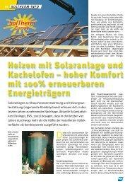Sonne und Kachelofen - PINK.co.at
