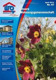 Neues vom Vorstand - Wohnungsgenossenschaft Bernburg eG