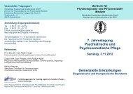 Zentrum für Psychologische und Psychosoziale Medizin