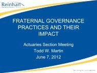 Convention Governance Challenges - American Fraternal Alliance