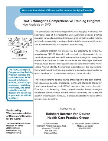 comprehensive management training program essay A proposal for a comprehensive training and professional development program academic advising, career counseling, and supervisors respectfully submitted,.