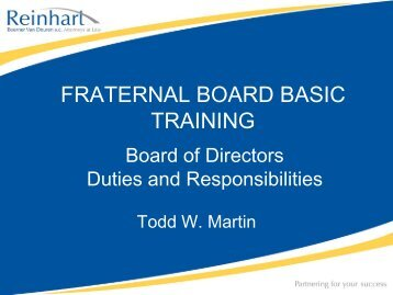 Presentation Title - American Fraternal Alliance