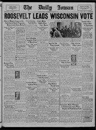 April 6 - The Daily Iowan Historic Newspapers - University of Iowa