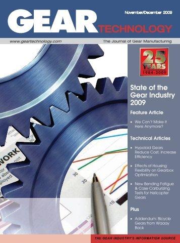 E F 85 0 - Gear Technology magazine