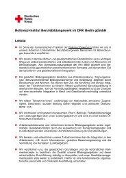 Rotkreuz-Institut Berufsbildungswerk im DRK Berlin gGmbH