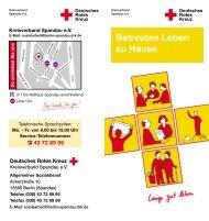Betreutes Leben zu Hause - Berliner Rotes Kreuz