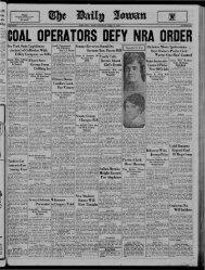 April 12 - The Daily Iowan Historic Newspapers - University of Iowa