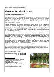 Weserbergland/Bad Pyrmont Hotel Kursana Residenz