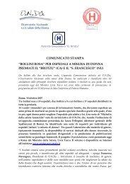 Bozza lettera bollini rosa, dott - Sardegna Salute