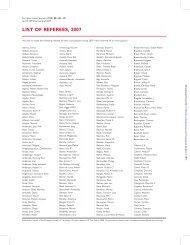 LIST OF REFEREES, 2007 - European Heart Journal