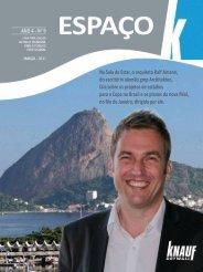 Publicações Knauf - Revista Espaço K - Euro Audio - R. Bassani
