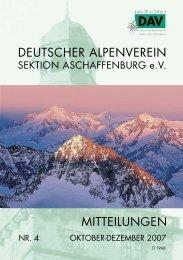 deutscher alpenverein - Alpenverein-Aschaffenburg