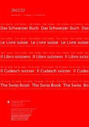 ISSN 1661-8211 | 112. Jahrgang | 30. November 2012 - admin.ch