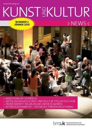 nummer 2 jänner 2010 - Bundesministerium für Unterricht, Kunst ...