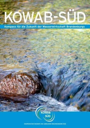 Kompass für die Zukunft der Wasserwirtschaft ... - Gubener Wasser