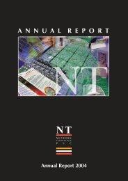 Annual Report 2004 ANNUALREPORT NT - Network Technology PLC