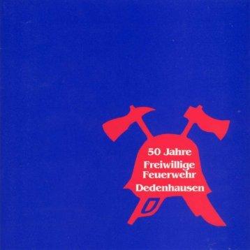 Chronik 50 Jahre Feuerwehr Dedenhausen (pdf, ca. 3