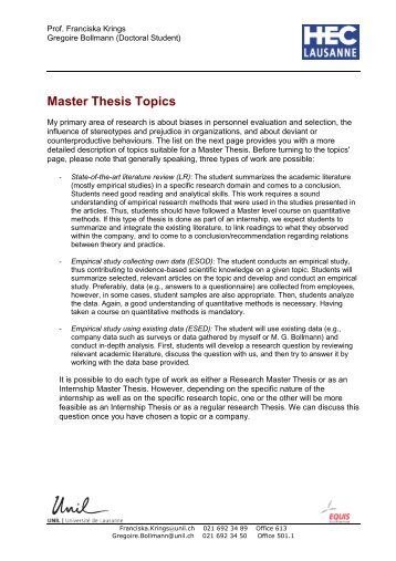 master thesis solid mechanics