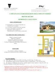 avviate le procedure di verifica e controllo - Provincia di Brindisi