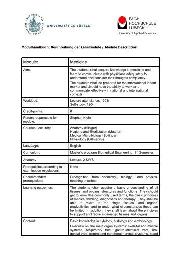 Allgemeine Anforderungen und Verfahrensgrundsätze - Master ...