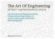 The Art Of Engineering - Springer Architektur
