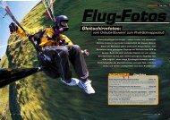 Flug-Fotos - Gleitschirm
