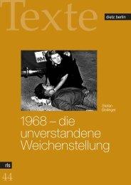 1968 – die unverstandene Weichenstellung - eDoc