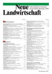 Jahresinhaltsverzeichnis ausgewählte Beiträge 2004