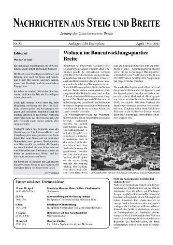 Lauftreff Schaffhausen, SRS – Sportler ruft Sportler - Quartierverein ...