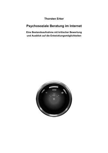 Thorsten Erker Psychosoziale Beratung Im Internet Eine ...