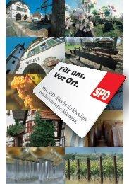 ihre ortsbeiratskandidaten - SPD-Ortsverein Landau-Mörzheim