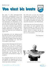 Bitte klicken Sie hier um sich unsere Chronik - Fischereiverein Spiez
