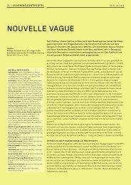 Nouvelle vague, TEC21 26/2010 (PDF) - Haus der Farbe