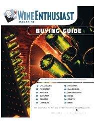 BUYING GUIDE - Wine Enthusiast Magazine